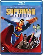 Superman vs The Elite - Blu-ray - DC Animated Movie - Brand New & Sealed