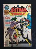 BATMAN FAMILY #9 MID GRADE BRONZE AGE DC COMICS JOKER'S DAUGHTER BATGIRL COVER
