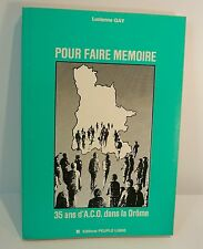 Lucienne Gay. Pour faire mémoire, ACO Drôme, action catholique ouvriere