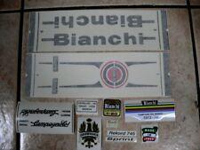 Bianchi bici Bike 03 Vinyl Decals Stickers Frame Replacement Set vintage adesivi