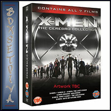 X-MEN- THE CEREBRO COLLECTION - ALL 7 FILMS **BRAND NEW DVD BOXSET**
