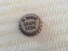 Vintage Bottle Caps - El Duque Grape Soda