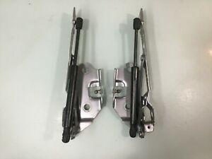 12-21 Dodge Challenger Rear Trunk Lid Left & Right Hinges w/ Support Cylinders E