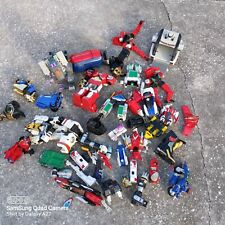 vintage Bandai Power Rangers Megazord parts pieces lot INCOMPLETE