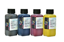 Sublimation ink Black, Yellow, Magenta, Cyan 4x100ml