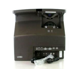 SMART UX80 Projector 3600 ANSI Lumens Ultra-Short Throw WXGA Projector 3D A486