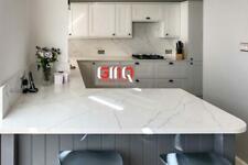 Alaska Bianca Quartz Kitchen Countertop | All colours available | Sample