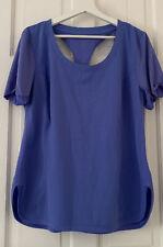 Calvin Klein Blue Racer Back T Shirt Sz XL
