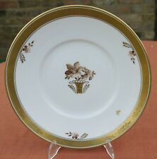 "Royal Copenhagen  ""Golden Basket""    6.75"" Plate     595 / 10521"