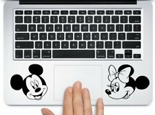 """Mickey and Minnie mouse heads for mac book pro Air 11 13 15 laptop decal 3.5"""""""