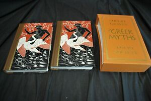 Folio Society The Greek Myths I & II By Robert Graves With Slipcover