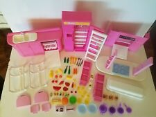 Barbie Kitchen Playset 1992 Fashion Doll Accessories 7472 Furniture Food Dishes