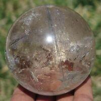 124mm 10.8OZ Natural Gypsum Selenite Satin Spar Crystal Point Healing Gift