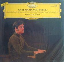 Dino Ciani: Weber Piano Sonatas Nos. 2 & 3 - DG 2530 026 (sealed promo copy)