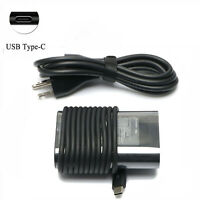 45W Power Adapter Charger for Dell Chromebook 5190 14-7486 11-3100 14-3400 USB-C