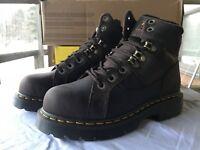 Dr. Martens New Ironbridge Steel Toe Boot Brown Gaucho