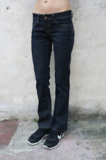 Tommy Hilfiger Rosie DRY Stretch Denim Dark Blue Jeans Bootcut leg W28 L30 UK10