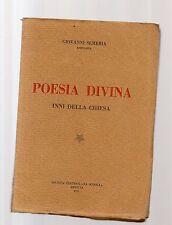poesía divina - himnos de iglesia - giovanni sahib - barnabitas - 0518sextus