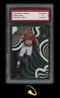 🌟2020 Chase Young Panini Mystique 1st Graded 10 Washington Rookie RC Card 🌟