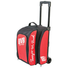 DV8 Freestyle 2 Ball Roller Bowling Bag with Wheels Red 5 Year Warranty