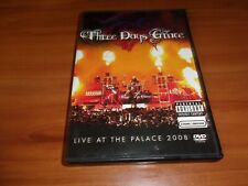 Three Days Grace - Live At The Palace 2008 (DVD, 2008, Explicit)