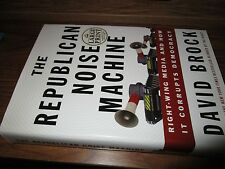 The Republican Noise Machine by David Brock Large Print Book