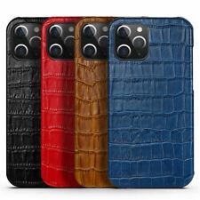 Luxus Kuhleder Rückseite Etui Abdeckung für iPhone 12 Mini 11Pro Max
