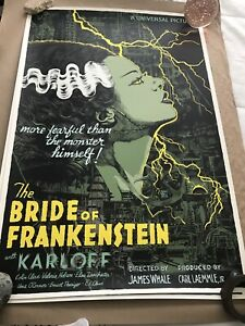 Francesco Francavilla The Bride of Frankenstein Variant Edition Print Mondo