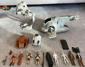 Original Starwars Figures and Spaceships/vehicles