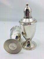 Vintage 1950's Duchin Creations Sterling Silver Salt Pepper Shaker Set