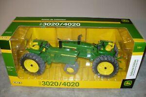 1/16 3020/4020 JOHN DEERE Collector Edition 50th Anniv Toy Tractor Set NIB Ertl