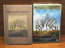 Big Fish An Adventure As Big As Life It's Self (Dvd + Hardcover Book) Complete!