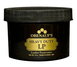 Obenauf's Heavy Duty LP 8oz - Preserves and Protects Leather - Made in the USA!