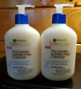 (2) Garnier SkinActive The Gentle Sulfate-Free Cleanser 13.5oz