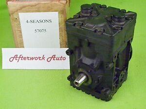 Four Seasons 57075 A/C Compressor for 1972-79 Jaguar, 1977-79 AMC, 1972-75 Mazda
