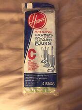 4 New Hoover Vacuum Bags Type C
