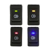 4Pcs Universal Car Fog Light Rocker Switch LED Light Dash Dashboard 12V Sales