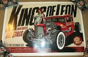 KINGS OF LEON concert gig tour poster print SYDNEY 3-18-09 2009 Ken Taylor