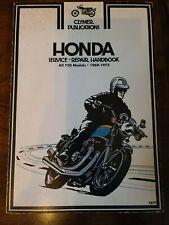 1969-1973 Honda All 750 Models Clymer Service Manual Fourth Edition