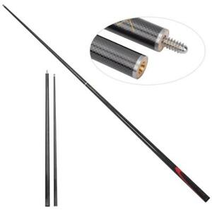 9MM Carbon Durable Professional Billiard Pool Cues Stick Snooker Rod Supplies❤HA