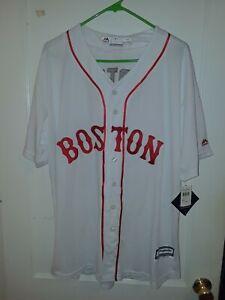 NWT David Ortiz Majestic Cool Base Boston Red Sox Jersey Men's XL Stitched