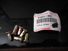 NOS Kawasaki OEM KX125 KDX175 KLX250 Spoke Nipple 41032-1001 Qty 6