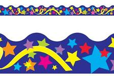 Terrific Trimmers Classroom Notice Board Display Borders - Star Party
