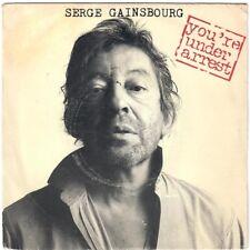 SERGE GAINSBOURG You're Under Arrest Baille Baille Samantha 1987 SP Philips