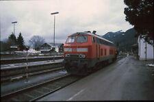 Originaldia DB 218 340 upper village 10.2.2002