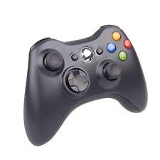 Controller Joypad Gamepad Wireless Senza Fili Compatibile Xbox 360 Nero hsb