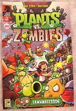 SDCC 2013 Comic Con Plants vs. Zombies Lawnmageddon Dark Horse Comic book NEW