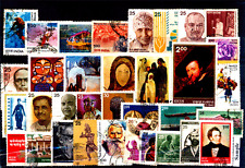 INDIA YEAR UNIT 1978 Complete Set of 34 Used Thematic &Commemorative Stamps