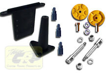 MONSTER TRUCK CONVERSION  Kyosho Ultima Body Mounts Wheel Adapters Team CRP 1717