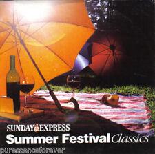 V/A - Summer Festival Classics (UK 10 Tk CD Album) (Sunday Express)